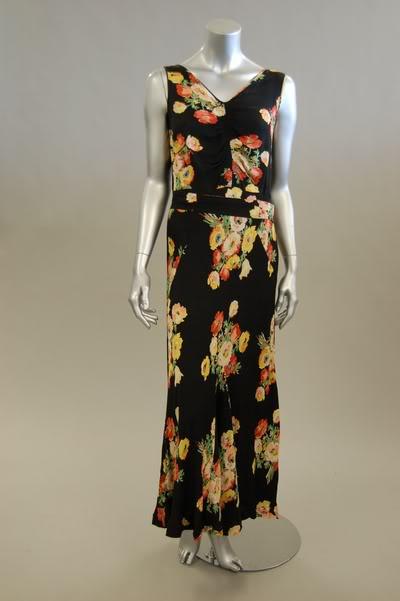 1930fashion on 1930s Floral Dress   Swing Fashionista