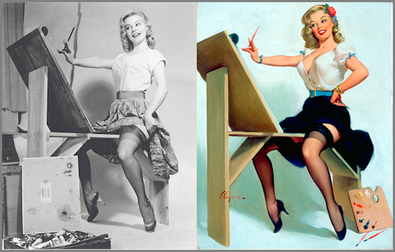 gil elvgren s real woman in a pin up girl reality i want to be a pin up. Black Bedroom Furniture Sets. Home Design Ideas